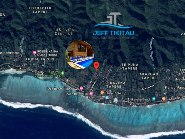Jeff Tikitau Cook Islands Aerial