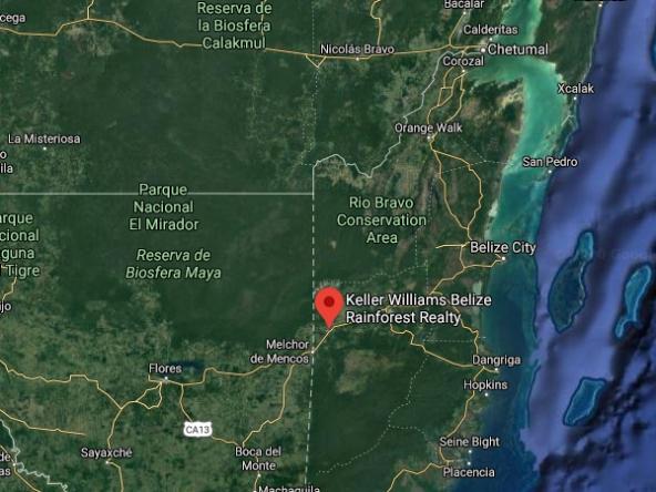 Macarena Rose Belize Map 3