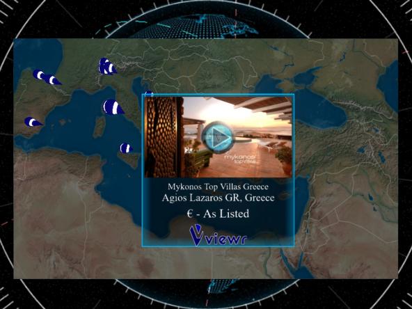 Mykonos Top Villas Greece VR Virtual Reality Slide