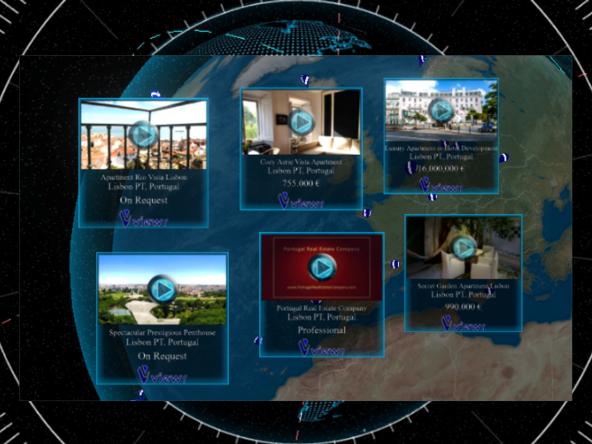 Portugal Real Estate Company PREC Lisbon VR Virtual Reality
