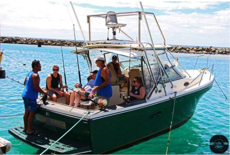 Jeff Tikitau Cook Islands Charter Fishing