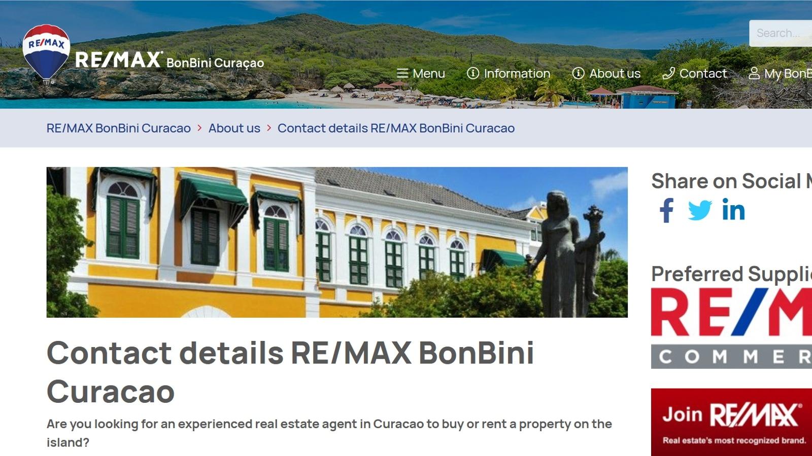 Curacao REMAX BonBini Slide