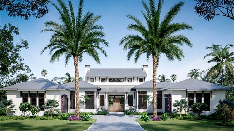 VK Melhado Naples Florida 823 Bentwood DR