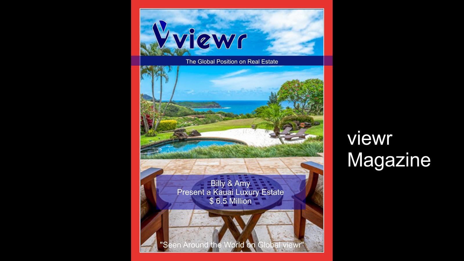 Billy and Amy Kauai Hawaii Magazine Slide