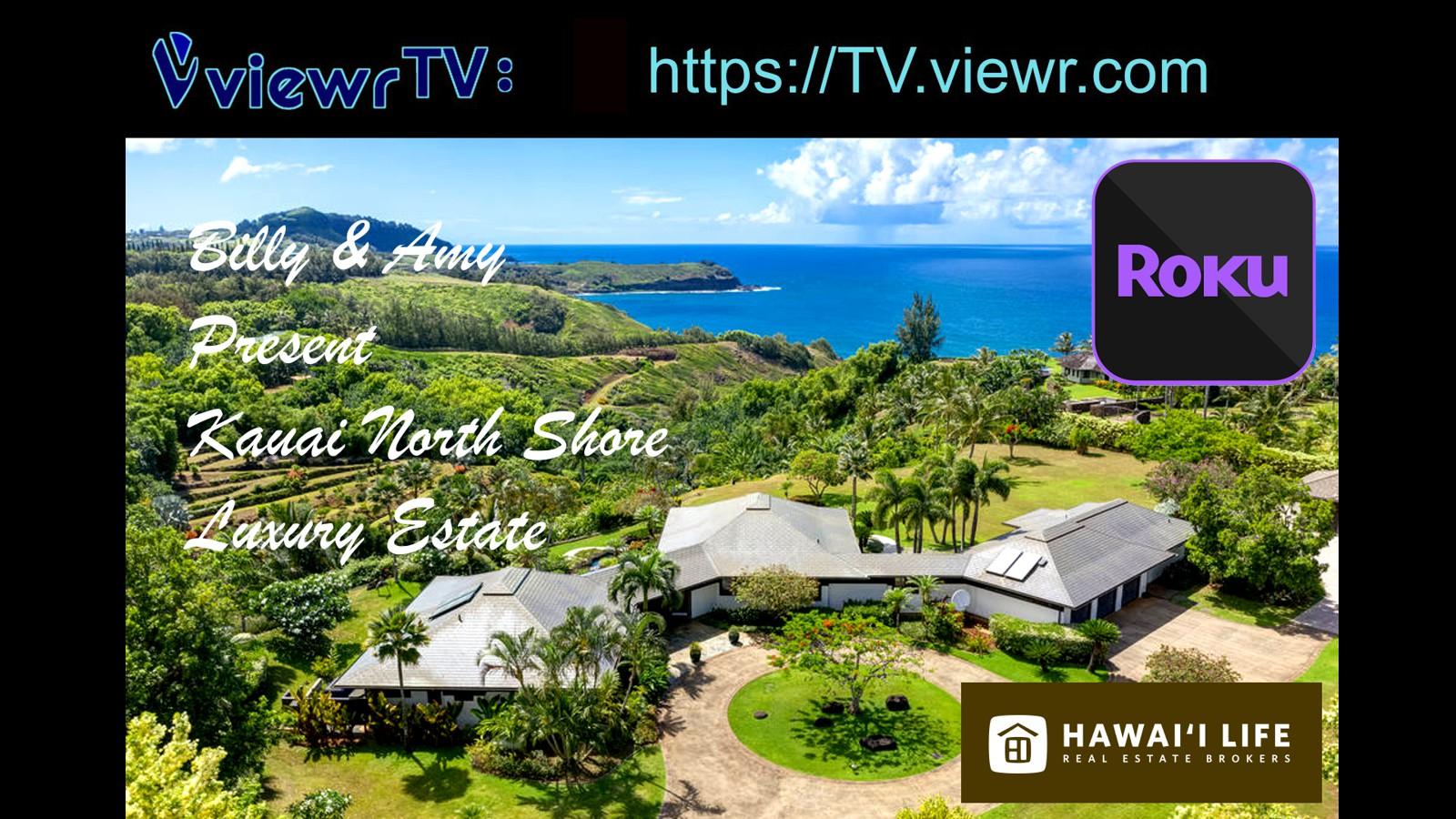 Billy and Amy Kauai Hawaii TV Slide