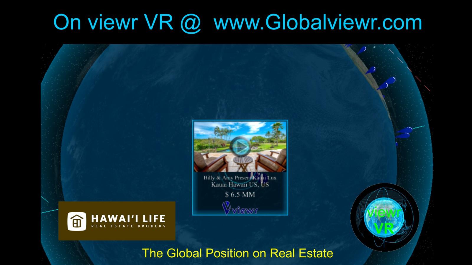 Billy and Amy Kauai Hawaii VR Slide